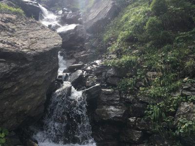 Die Wasserfälle von gegenüber