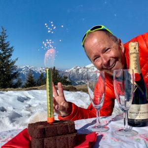 Read more about the article Feuerwerk im Schnee