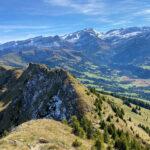 Ein Hufeisen und drei Gipfel