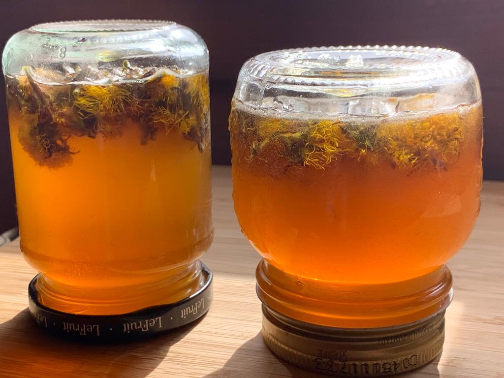 Huflattich-Honig