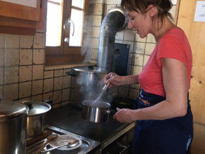 Kochen mit Bergblumen